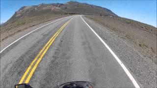 Visitando Argentina (18) - Agarrate Catalina - Chubut - Honda CG 150 - Go Pro - Ruta Nacional 40