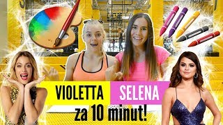 MUSÍME nakreslit Selenu Gomez a Violettu za 10 minut !! ft. L E A
