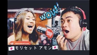 "JAPAN: Morissette Amon covers ""Rise Up"" WISH 107.5 BUS REACTION VIDEO"