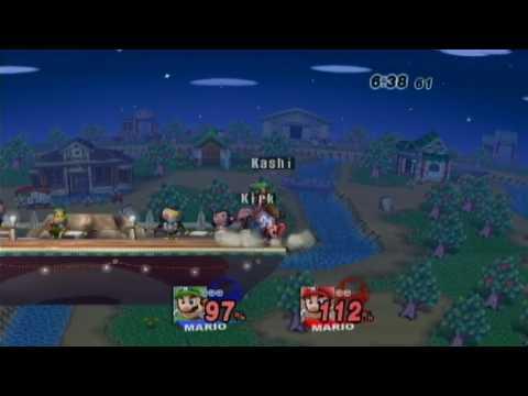 Phoenix Mario Duels! Akashi(Green) vs. Kirk(Red) 1