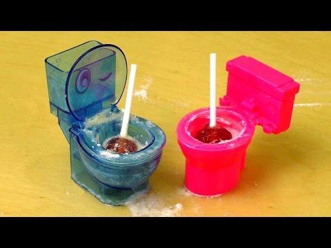 Japano Toy Toilet Moko Mokolet & Candy Fun Toilet with sour Flush