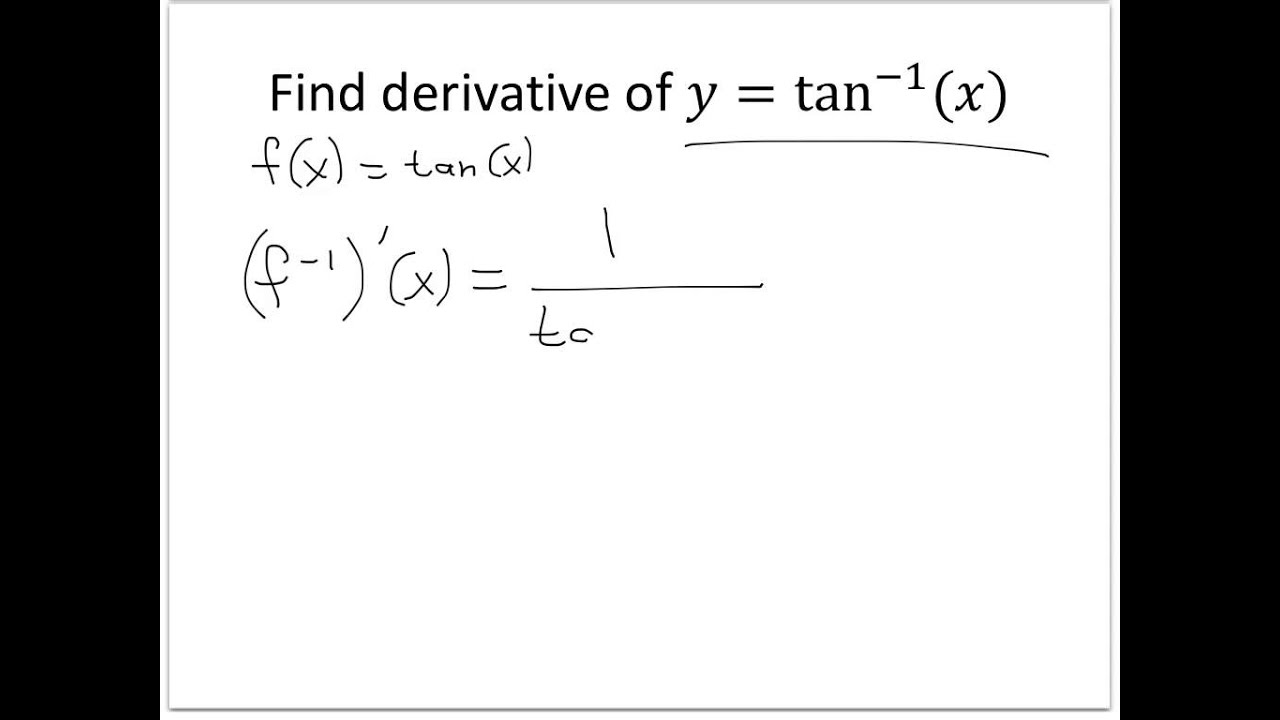 function and inverse cindy dean In order to view the videos below, you must be using internet explorer or google  chrome videos on inverse trigonometric functions and their derivatives.