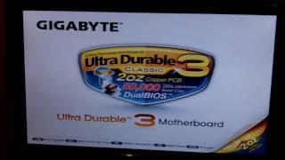 gigabyte ga ma770 ud3 bios flashing fail fixed