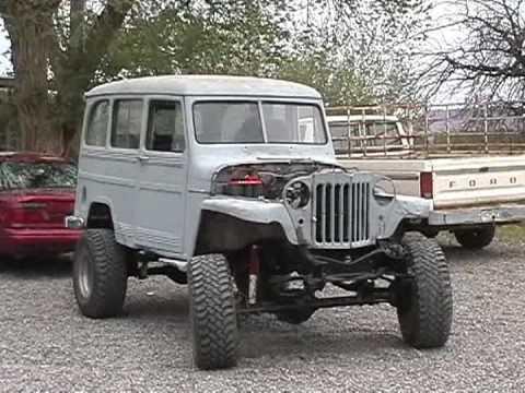 Jake's 56 Willys Wagon - YouTube