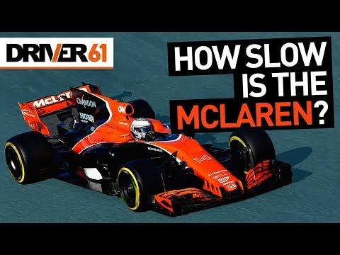 Exactly How Slow is the 2017 McLaren-Honda F1? Alonso & Hamilton Lap Data Comparison
