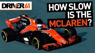 Exactly How Slow is the 2017 McLaren-Honda F1? Alonso & Hamilton Lap Data Comparison