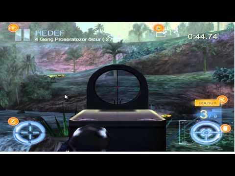 Jungle Mists Region Assault Rifle Series 09/20 Mission Hunt 4 Young Proceratosaurus