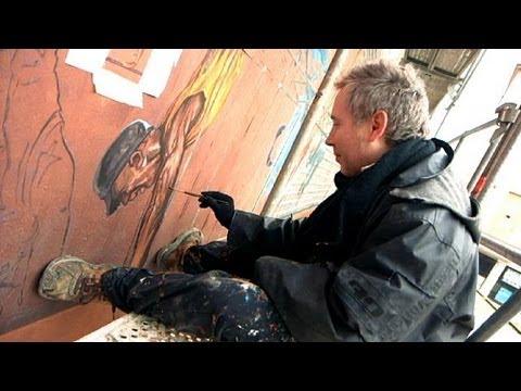 Dipinti Murali E Pittura Ad Ago : A lione nasce la prima scuola di pittura murale al mondo lemag