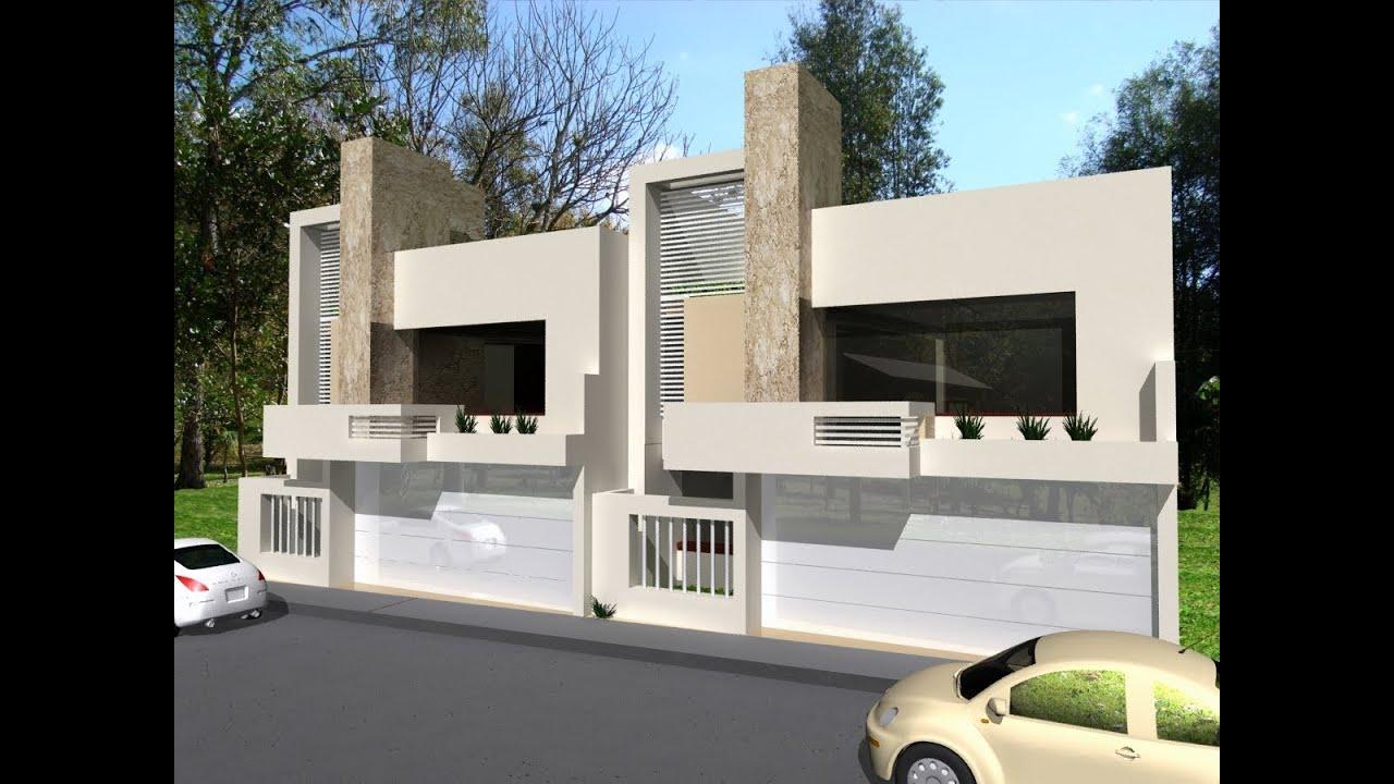Imagenes virtuales renders youtube for Casas modernas renders