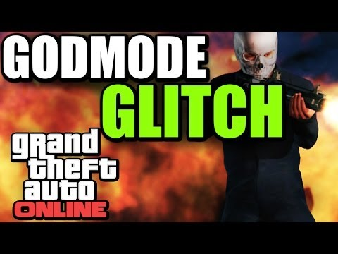 GTA V ONLINE - GOD MODE GLITCH TUTORIAL - [ XBOX & PS3 ]