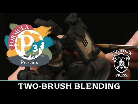 Formula P3 Presents: Two-Brush Blending