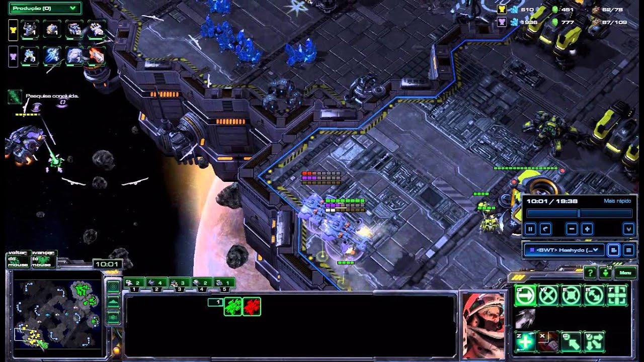 [BWT] Hashydo vs [OceanT] Alcapone TvT StarCraft II