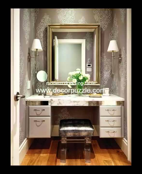 modern dressing table youtube. Black Bedroom Furniture Sets. Home Design Ideas