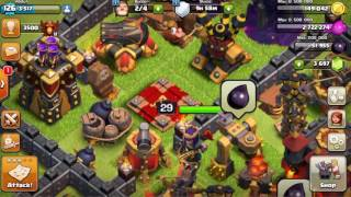 Free To Play Player Wastes 3k Gems To Upgrade Archer Queen | CBA w/ Clash of Clans Farming