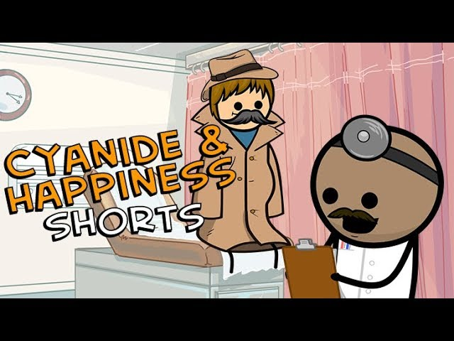 the-tall-boys-visit-the-doctor-cyanide-happiness-shorts