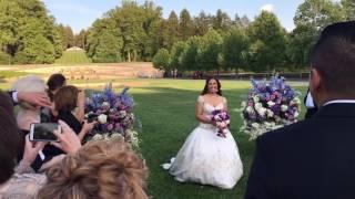 Here comes the bride (Biltmore)