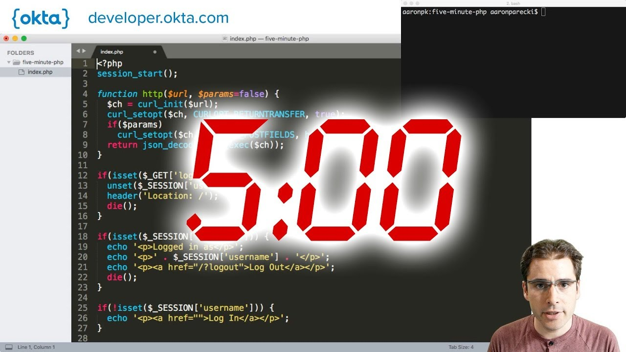 Add Authentication to your PHP App in 5 Minutes   Okta Developer