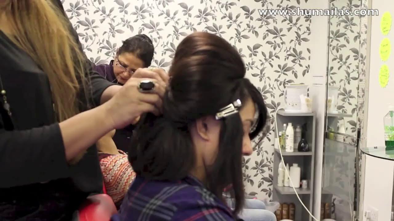 indian school girls hair styles - youtube