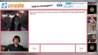 Omegle used for a great purpose!
