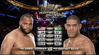 Daniel Cormier vs Antonio Silva FULL FIGHT  - UFC Light Heavyweight Championship