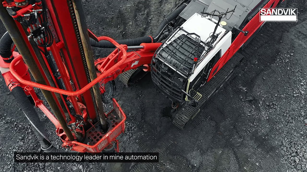 Leopard DI650i iDrill AutoCycle | Sandvik Mining and Rock Solutions