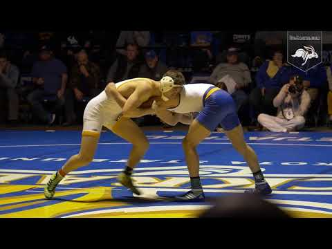 Wrestling vs Wyoming Highlights (01.18.2018)
