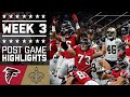 Falcons vs. Saints (Week 3) | Post Game Highlights | NFL