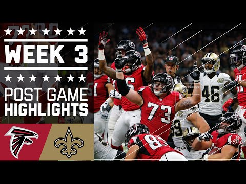 Falcons vs. Saints (Week 3) | Post Game Highlights | NFL