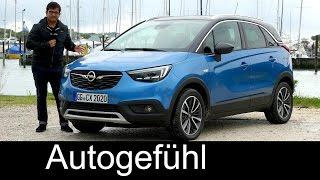 Opel Crossland X FULL REVIEW Vauxhall SUV test driven all-new neu - Autogefühl