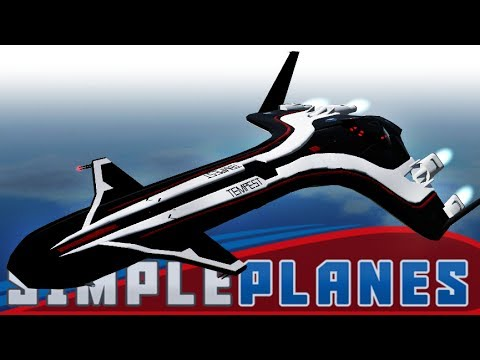 ANDROMEDA SURVEY SHIP! | Simple Planes #45 | Player Creations!