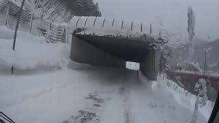 大型トラックのお仕事 ―冬の石北峠ドライブ―
