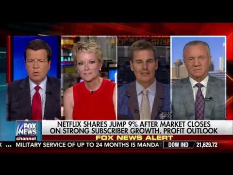 Netflix stock rockets on strong subscriber growth  Fox