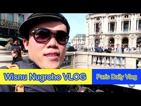 Paris Daily Vlog : Jalan-jalan Cari Makan Pad thai - Ngafe cantik - Jadi Inem