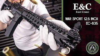 Обзор на East Crane WAR SPORT 12 5 INCH EC-835. Страйкбольный автомат.