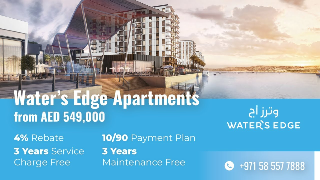 Aldar Water's Edge Apartments: New Building 6 Release