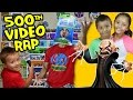 Skylanders Raps: Our Story! (500th Video) How We Got Started with Spyros Adventure