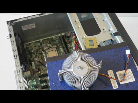 HP Pro 3500 Upgrade Processor CMOS Battery - YouTube
