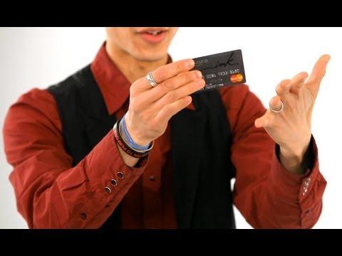 How to Break & Restore a Credit Card | Magic Tricks