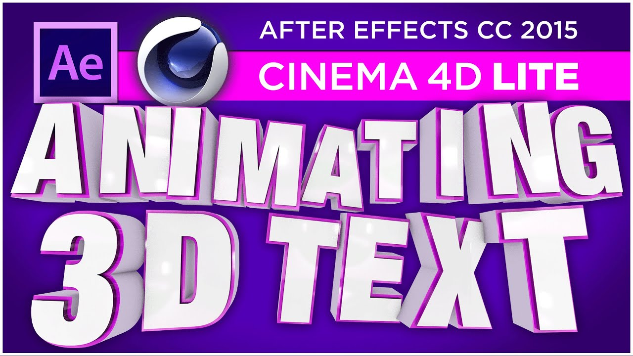 Use Cinema 4D Lite MoGraph Effectors to Animate 3D Titles in