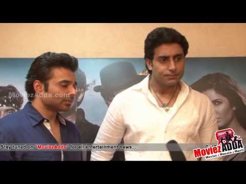 Abhishek Bachchan & Uday Chopra's  Interview | Dhoom 3