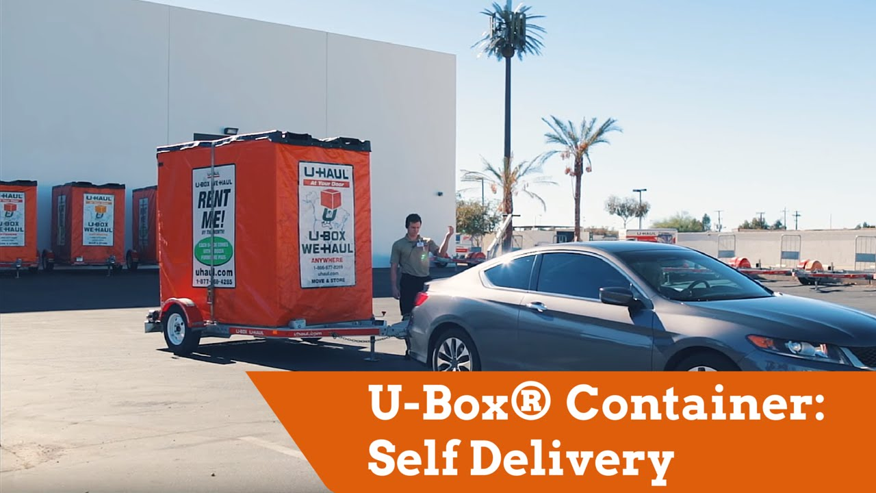 U Box 174 Moving And Storage Containers Self Delivery Youtube