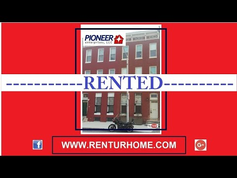 RENTAL - 829 E. Chase Street, Baltimore, Maryland 21202