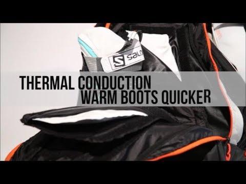 97d48f033f2d Thermal Trekker - Heated Ski Boot Bag - KULKEA - YouTube