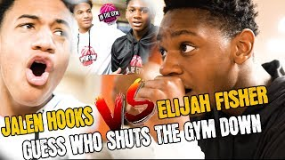 Top 8th Graders Elijah Fisher vs Jalen Hooks | Elijah Fishers SHUTS THE GYM DOWN VLOG!!!