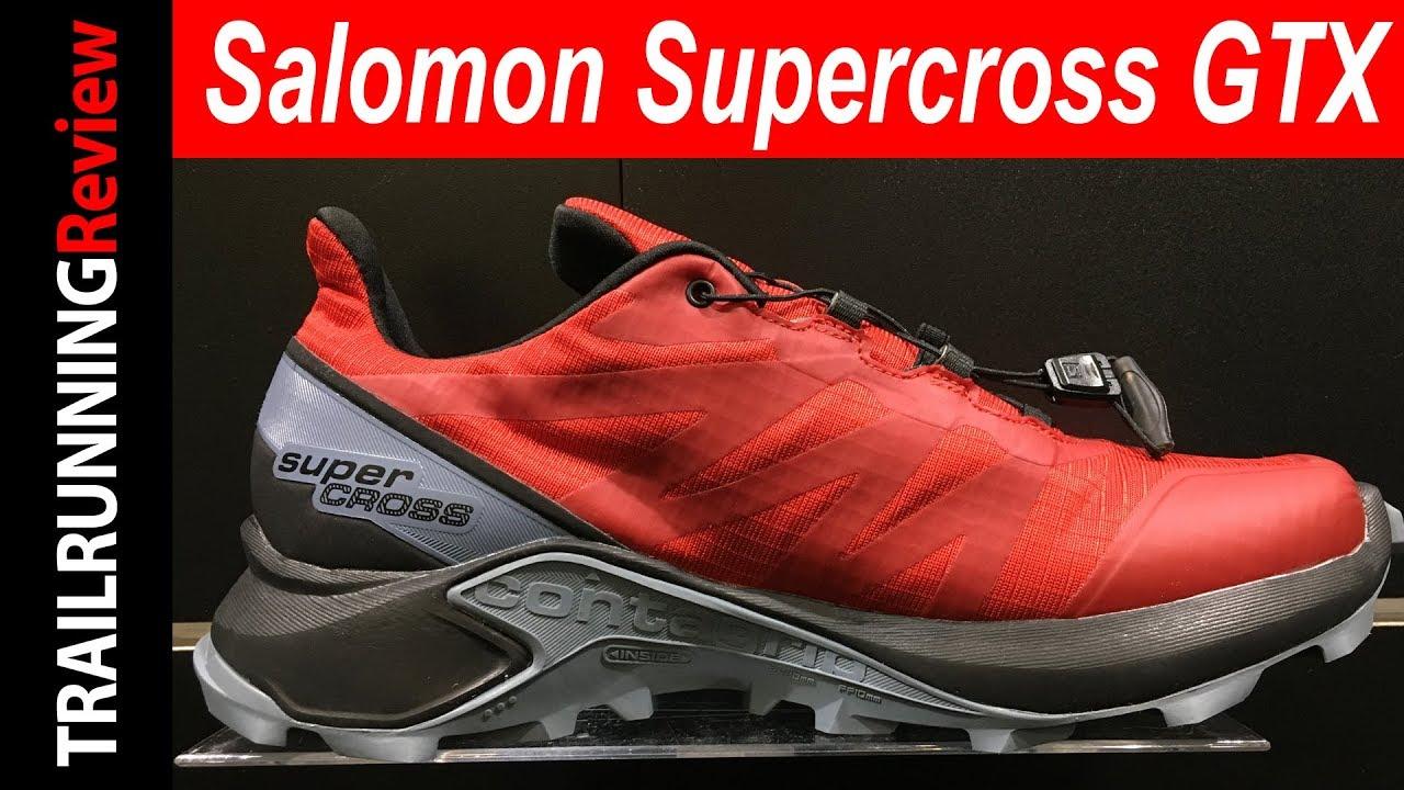 Salomon Supercross GTX Preview - Versión impermeable