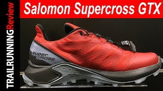 Salomon Supercross GTX Preview - Versión impermeable