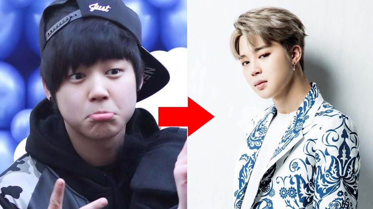 BTS Jimin Then And Now