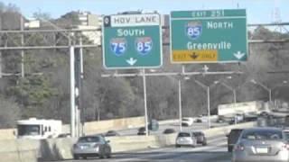 Driving Through Atlanta, Georgia