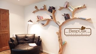 Tree Shelves Handmade By Bespoak Interiors