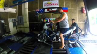 Raider 177cc Supercharged dyno runs